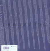 Tissu topique (toiles de mayenne a fontaine-daniel depuis 1806) - 4ème de couverture - Format classique