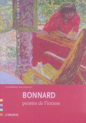 Bonnard, peintre de l'intime - Intérieur - Format classique