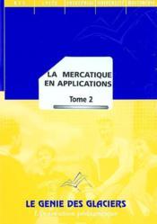 La mercatique en applications t.2 ; pochette de l'élève - Couverture - Format classique