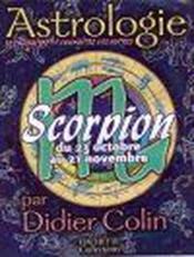 Scorpion - Couverture - Format classique