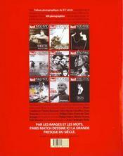 Le Xx Siecle De Paris Match - 4ème de couverture - Format classique