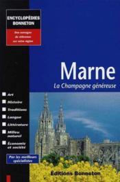 Encyclopedies Regionales ; Marne ; Encyclopédie Régionale - Couverture - Format classique