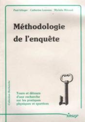 Methodologie de l'enquete - Couverture - Format classique