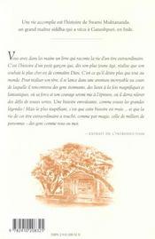 Vie Accomplie (Vie De Muktananda) - 4ème de couverture - Format classique