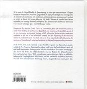 Jugendstil - 4ème de couverture - Format classique