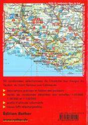 Provence ; entre Ardèche et les gorges de Vedon - 4ème de couverture - Format classique