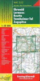 Ehrwald, Lermoos, Reutte, Tannheimer Tal, Sugspitze - 4ème de couverture - Format classique