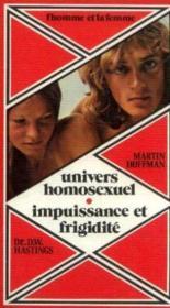 Univers homosexuel, Impuissance et frigidité - Couverture - Format classique