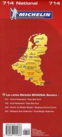 CR national 714 ; Bénélux 2011 - 4ème de couverture - Format classique
