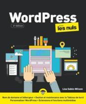Wordpress pour les nuls (4e édition) - Couverture - Format classique