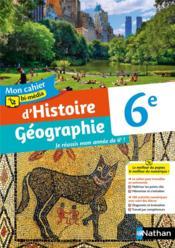 Mon cahier bi-média d'Histoire Géographie : 6e : cahier de l'élève (édition 2021) - Couverture - Format classique