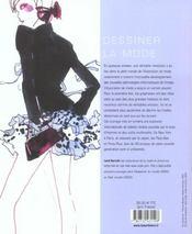Dessiner La Mode Volume 2 - 4ème de couverture - Format classique
