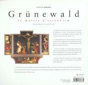 Grunewald ; Le Retable D'Issenheim - 4ème de couverture - Format classique
