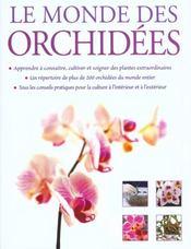 Le Monde Des Orchidees - Intérieur - Format classique