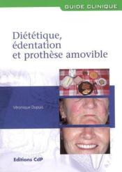 Dietetique, Edentation Et Prothese Amovible - Couverture - Format classique