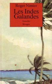 Les Indes Galandes - Couverture - Format classique