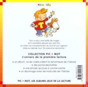 Tours de magie (les) - 4ème de couverture - Format classique