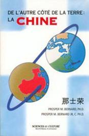 De l'autre cote de la terre : la chine - Couverture - Format classique
