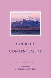 Courage et contentement - Couverture - Format classique