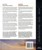 In situ ; voyages d'artistes européens, european artists on the road - 4ème de couverture - Format classique