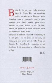Carnet d'un buveur de ciel - 4ème de couverture - Format classique