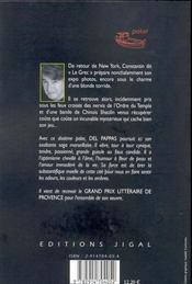 La mue de la cigale - 4ème de couverture - Format classique