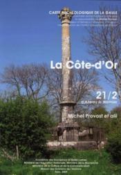 CARTE ARCHEOLOGIQUE DE LA GAULE T.21/2 ; d'Allerey à Normier - Couverture - Format classique