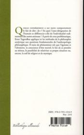 L'homme égocentré et la mystique ; une étude anthropologique - 4ème de couverture - Format classique
