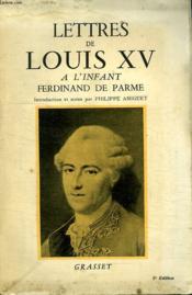 Lettres De Louis Xv. - Couverture - Format classique