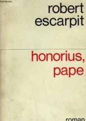 Honorius, Pape. - Couverture - Format classique