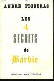 Les 4 Secrets De Barbie. - Couverture - Format classique