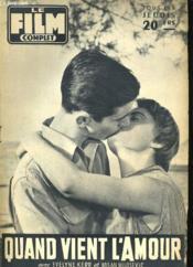 Film Complet N° 586- Quand Vien L'Amour - Couverture - Format classique