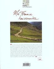 Ma france buissonniere - 4ème de couverture - Format classique