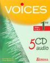 Voices 1re l es s cd audio 02 - Couverture - Format classique