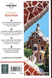 Barcelone (4e édition) - 4ème de couverture - Format classique