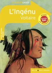 L'ingénu, de Voltaire - Couverture - Format classique