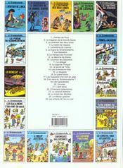Le Stagiaire - 4ème de couverture - Format classique