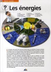Petit Guide T.259 ; Les Energies - Intérieur - Format classique