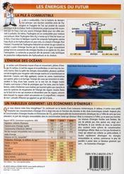 Petit Guide T.259 ; Les Energies - 4ème de couverture - Format classique