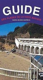 Guide Des Plages De La Cote Basque - Couverture - Format classique