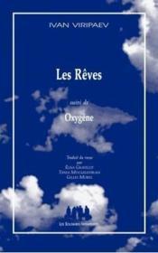 Les rêves ; oxygène - Couverture - Format classique
