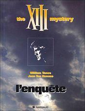 XIII T.13 ; l'enquête, the XIII mystery - Intérieur - Format classique