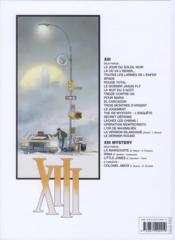 XIII T.13 ; l'enquête, the XIII mystery - 4ème de couverture - Format classique