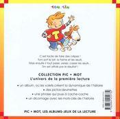 Vive les crepes ! - 4ème de couverture - Format classique