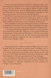 L'Homme Qui Marchait Vers Le Soleil Levant - 4ème de couverture - Format classique