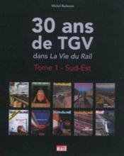 30 Ans De Tgv - Couverture - Format classique