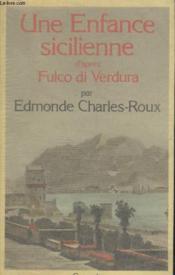 Une enfance sicilienne - Couverture - Format classique