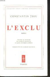 L'Exclu. Roman - Couverture - Format classique