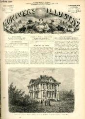 L'UNIVERS ILLUSTRE - QUINZIEME ANNEE N° 908 Trouville - Couverture - Format classique