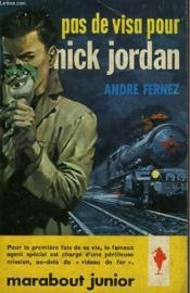 Pas De Visa Pour Nick Jordan - Couverture - Format classique